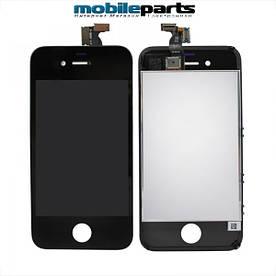 Оригинальный Дисплей (Модуль) + Сенсор (Тачскрин) для Iphone 4  (Черный)