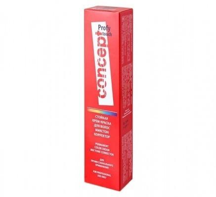 0.00/N корректор нейтральний  Concept PROFY Touch Стійка Крем-фарба для волосся 60 мл.