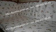 Комплект в кроватку  новорожденного из 3-ед- Птички