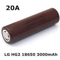 Высокотоковые аккумуляторы 18650 HG2 20А