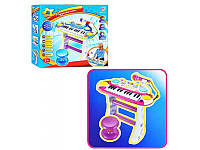 Пианино 7235 Музыкант, на подставке, стул, микрофон, Play smart
