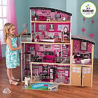 Кукольный домик Барби Kidkraft Sparkle Mansion 65826, фото 1