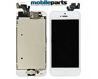 Дисплей (Модуль) + Сенсор (Тачскрин) для Apple iPhone 5 (Белый) (Оригинал Китай, Тianma)