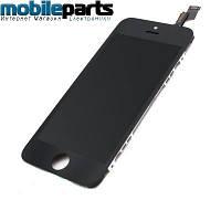 Дисплей (Модуль) + Сенсор (Тачскрин) для Apple iPhone 5S (Черный) (Оригинал Китай, Tianma)
