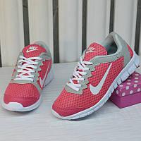 Кроссовки Nike Free Run pink 36//37//38