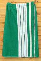 Килт для бани, размер 90х150 см, зеленый