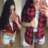 Женская модная рубашка 49 , фото 1