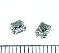 B048 кнопка для планшета, смартфона, мобильного телефона, брелка сигнализации 3,5х3х1,4