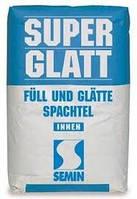 Финишная шпатлевка на основе гипса Semin Super Glatt