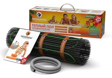 Нагревательный мат Теплолюкс Tropix МНН-200-1,3