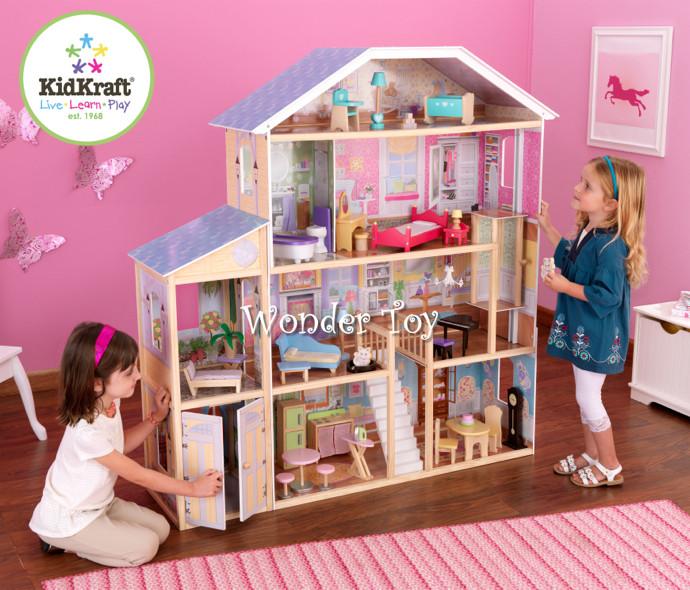 Кукольный домик на 7 комнат Kidkraft Majestic Mansion 65252
