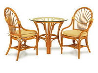 Разница между мебелью из лозы и мебелью из ротанга