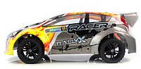 Машинка на радиоуправлении  с бесколлекторной системой Ралли Himoto Rally серая (машинки на пульте управления)