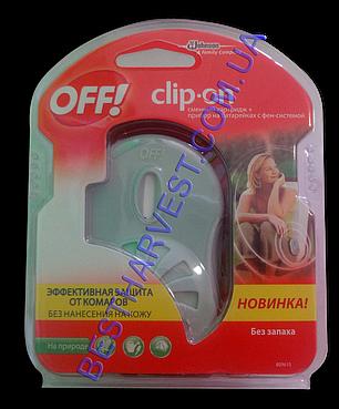 Прибор от комаров OFF Clip-On с фен-системой + сменный картридж, фото 2