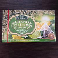 "Чай ТМ ""Тянь Шань"" зеленый 20 пирамидок лимон с лаймом"