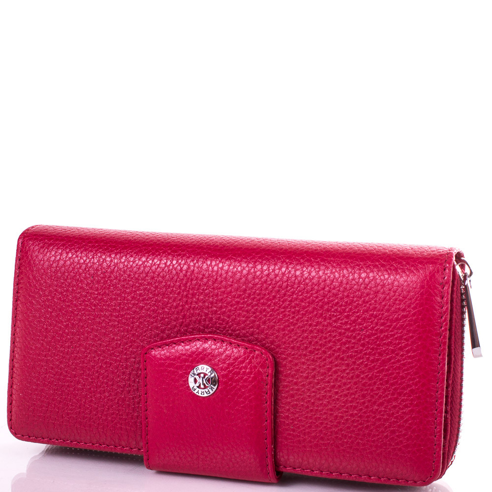 Женский удобный кожаный кошелек KARYA SHI1119-1FL красный
