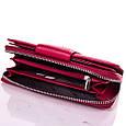 Женский удобный кожаный кошелек KARYA SHI1119-1FL красный, фото 6
