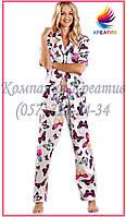 Пижамы Женские с вашим логотипом (под заказ от 50 шт.)