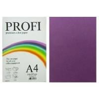 """Бумага цветная """"PROFI"""" А4. 80г  интенсивный фиолетовый RASPBERRY 100 листов, фото 1"""