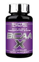 Аминокислота Scitec Nutrition BCAA-X 120 капсул