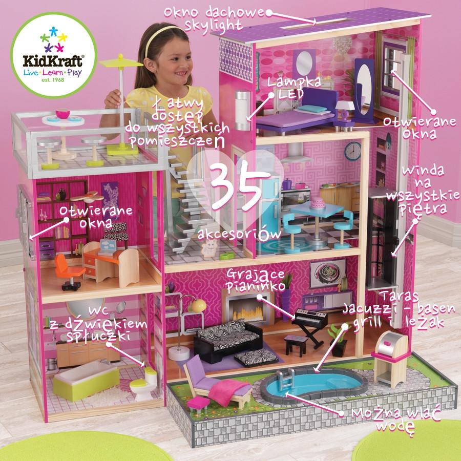 Кукольный домик Вилла Kidkraft Luxury 65833
