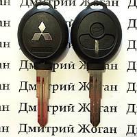 Корпус автоключа для Mitsubishi (Митсубиси) 3 - кнопки