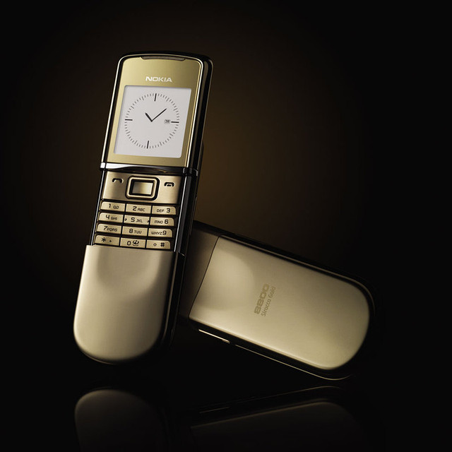 Оригинал Nokia 8800 Sirocco Gold Edition
