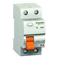 Дифференциальный выключатель Schneider Electric ВД63 2P 25А 30мА 11450