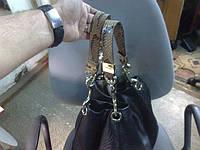 Ручки для сумки Jimmy Choo из кожи ПИТОНА, фото 1
