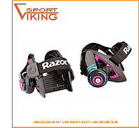 Ролики с креплением на обувь Heel Wheels Jetts Purple