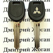 Авто ключ для Mitsubishi (Митсубиси) лезвие MIT8, с чипом 4D61