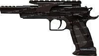 Пистолет пневм. KWC Tanfoglio Gold Custom 4,5 мм Blowback!