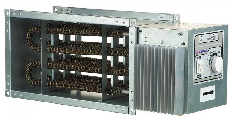 ВЕНТС НК 500х250-9,0-3 У - прямоугольный электрический нагреватель