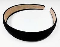 Обруч для волос черный 25мм
