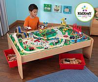 Железнодорожный набор Kidkraft Waterfall Mountain Train Set and Table 17850, фото 1