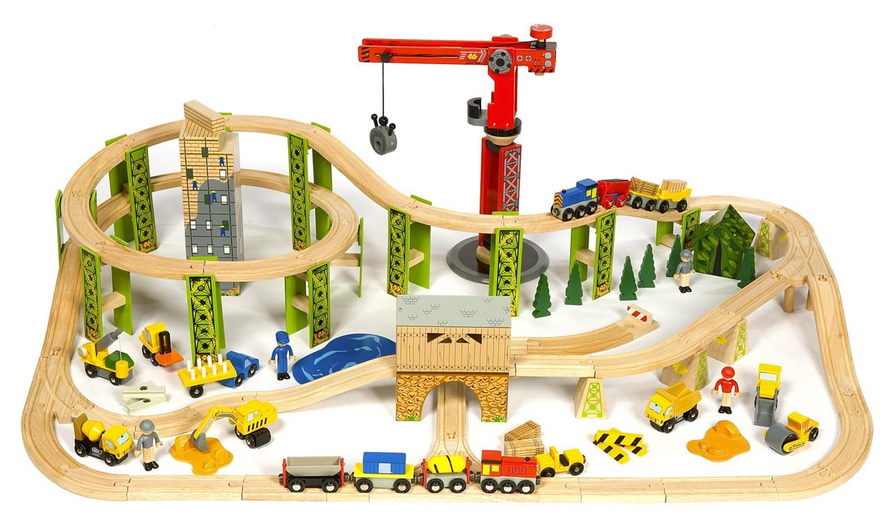 Игровой набор Железная дорога Kidkraft Bucket Top Construction Train Set BJT019