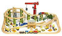Игровой набор Железная дорога Kidkraft Bucket Top Construction Train Set BJT019, фото 1