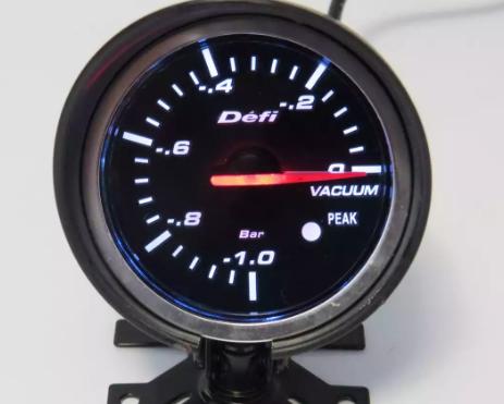 Тюнинговый автомобильный прибор DEFI 60256 вакуум 60мм