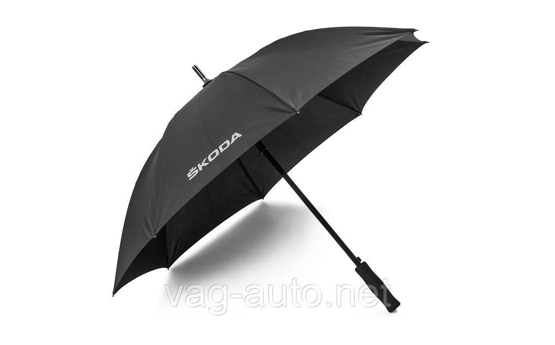 Зонт Skoda - черный