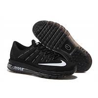 Кроссовки Nike Air Max 2016 Black экстра черный цвет, фото 1