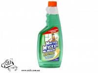 Моющее средство для стекла Мистер Мускул с нашатырным спиртом 500 мл без распылителя