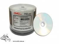 Диски CD-R CMC 700 Mb sprindle 50  Printable Glossy