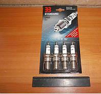 Свеча зажигания ВАЗ 2108-15 (комплект 4шт) (блистер) (8 клапанный под ГБО) (производство Энгельс)