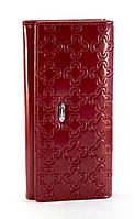 Красный вертикальный двойной женский кошелек с картхолдером FUERDANNI art. 8981, фото 1