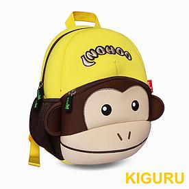 3D рюкзак в виде животных Nohoo Мартышка желтая