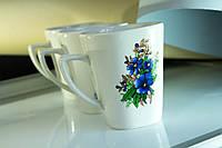 Чашка керамическая Незабудки, деколь