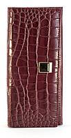 Бордовый недорогой вместительный женский кошелек FUERDANNI art. 6651, фото 1