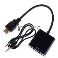 HDMI VGA кабель адаптер переходник + аудио
