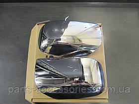 Nissan Rogue 2008-13 хромовые накладки на зеркала новые оригинал
