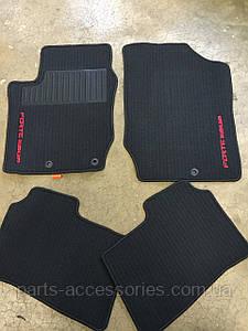 Kia Forte Coup 2009-13 коврики велюровые передние задние новые оригинал